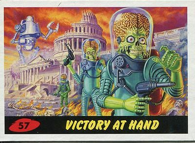 Mars Attacks Invasion Heritage Parallel Base Card #57