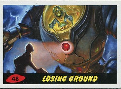 Mars Attacks Invasion Heritage Parallel Base Card #48