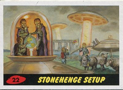 Mars Attacks Invasion Heritage Parallel Base Card #22