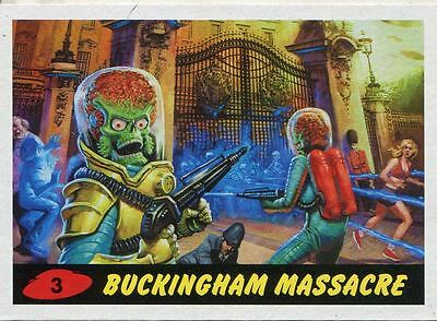 Mars Attacks Invasion Heritage Parallel Base Card #3