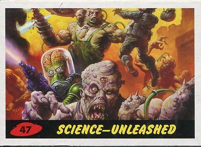 Mars Attacks Invasion Heritage Parallel Base Card #47