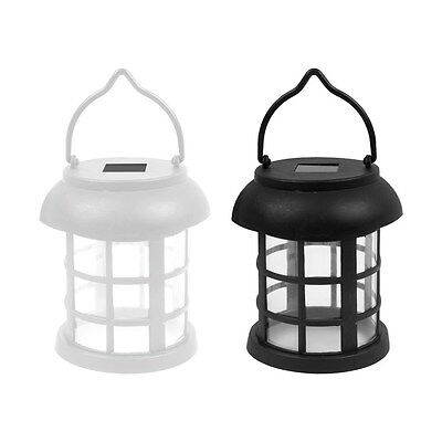Solar Powered Hanging Garden Lantern LED Outdoor Lights Rechargeable Set 1,2,4
