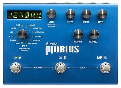 STRYMON MOBIUS modulation effects