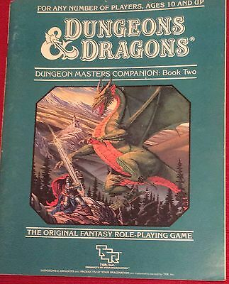 Dungeons And Dragons Fantasy Adventure Game Rule Book