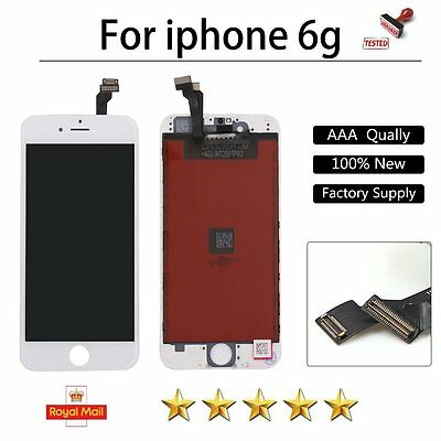 """Replacement For iPhone 6 4.7"""" White LCD Touch Digitizer Screen Display Assembly"""