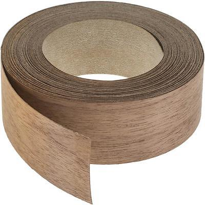 "Wood Veneer Edgebanding Edge Tape Pre-Glued 2"" x 25' Walnut"