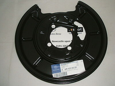 Genuine Mercedes-Benz W169 A-Class RH REAR Brake Backing Plate A1694230220 NEW