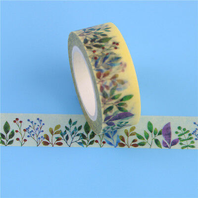 Herbaceous Washi Tape - Bullet Journal