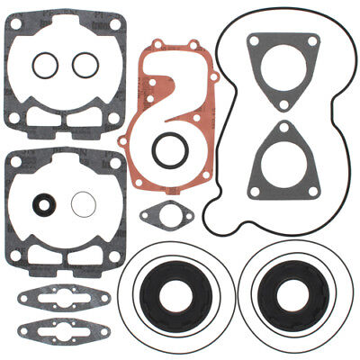 Winderosa Complete Gasket Kit with Oil Seals For Polaris HO RMK 144 2008 600cc