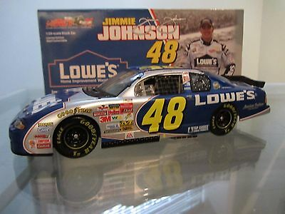 Jimmie Johnson #48 Lowe's Rookie 2002 Action 1/24 Scale NASCAR Diecast