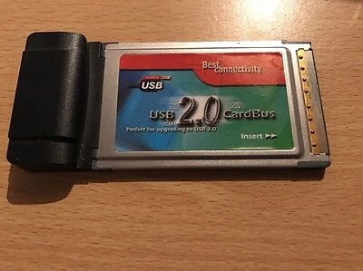 2 Port USB 2.0 High Speed Cardbus Adapter