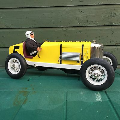 Boxed Race Race Car Miller Clockwork Gilbow Windup 1:8 Scale Tin Toy Indy Model