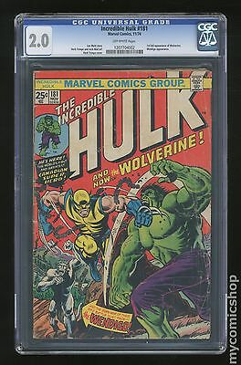 Incredible Hulk (1962-1999 1st Series) #181 CGC 2.0 1207704002
