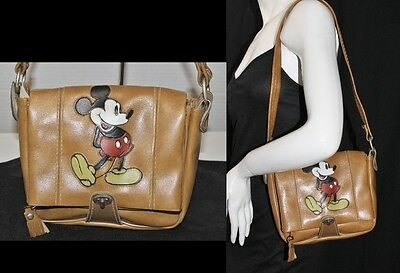 Vintage 50's/60's Walt Disney Original Mickey Mouse Shoulder Bag Purse Handbag