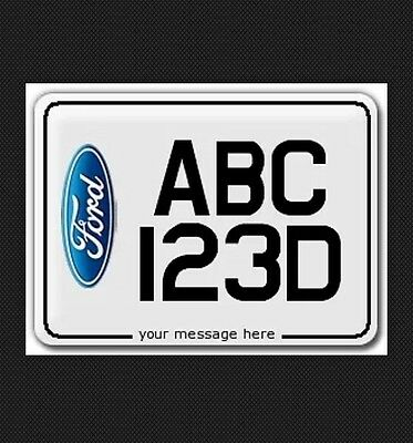 1/18 Th Scale  Custom Number Plates Diorama ** Bulk Purchase (5 Sets) **