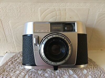 Balda Baldessa Camera Early 1960s Made in Germany with Leather Case
