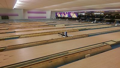 2 Full Size Full Size USBC Approved Synthetic Bowling Lanes