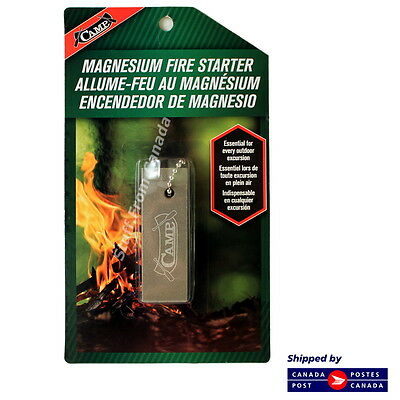 Magnesium Fire Starter - Survival or Camping
