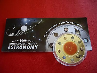 2009 Cook Islands, SOLAR SYSTEM $1, Planets series, Year of Astronomy