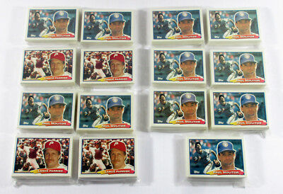 Lot of (4) 1988 Topps Big Series 1 Baseball Sets (88-Cards) + (132) Extras