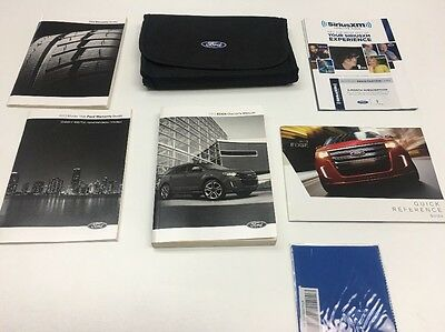 Ford Edge 2013 Owners Manual Books In Case / /  / Oem/ Free Shipping