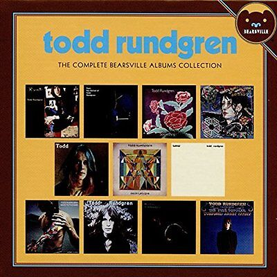 Rundgren,todd-Complete Bearsville Albums Collection (Box)  (Uk Import)  Cd New