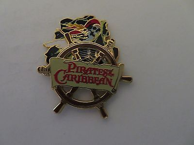 Pirates of the Caribbean Attraction - Skeleton Ghost   Pin #37591
