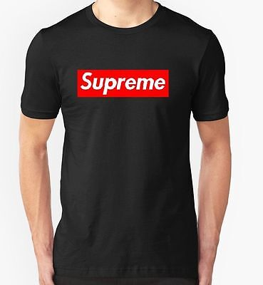 Supreme Box Logo Tshirt T-Shirt Tee Top Grey-White-Black *high Quality*