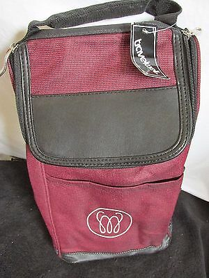 TRAVELWELL 2 bottle wine / WATER ETC. tote bag PADDED Camping Travel Helper  #7
