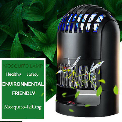 Muted LED Electronic Mosquito Control Lamp Bug Fly Insect Zapper Pest Killer
