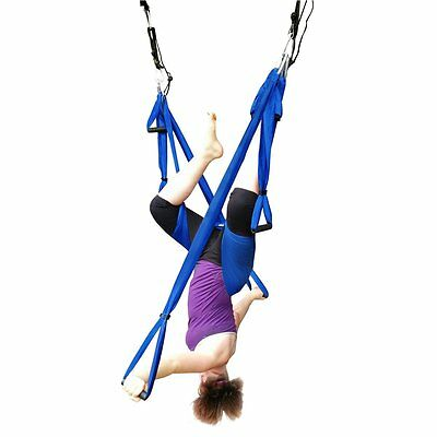 Yoga Swing Trapeze Flying Hammock-Yoga Sling/Inversion Tool Pilates Yoga Fitness