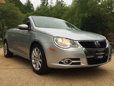 2010 Volkswagen Eos  low mile free shipping warranty 2 owner dealer serviced luxury cheap clean