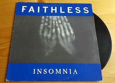 "Faithless - Insomnia 12"" vinyl single 1997"