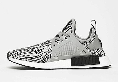 finest selection d6c71 89609 ADIDAS NMD XR1 Pk Primeknit Glitch Camo Oreo Black White Grey By1910