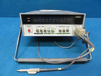 Leader LDC-822 80MHz Digital Frequency Counter *Tested Working*