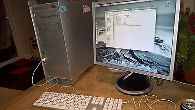 Apple PowerMac G5 - 7.3  with  2 x 2.0Ghz,  2Gb RAM, 150Gb HDD, DVD, OSX 10.5.8