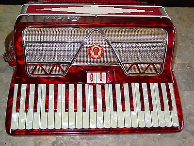 Baldoni vintage Italian accordion w/pickup mic
