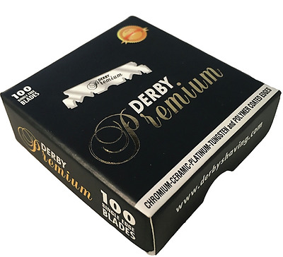Derby Professional Premium | Single Edge Razor Blades |  Pro Straight Edge