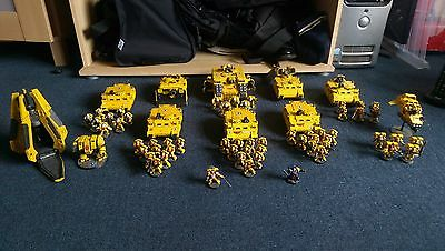 Warhammer 40,000 - Imperial Fist Space Marine Army