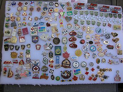 Pins Lapel Lot of over 200 pc