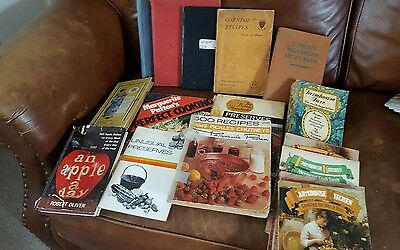 Vintage Old Hand Written Recipe Books and Vintage Cookbooks