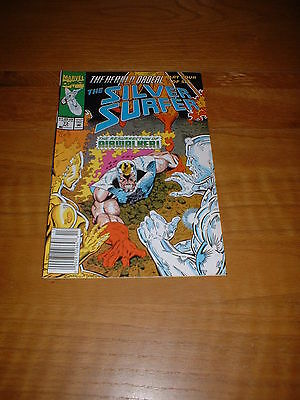 Silver Surfer (Vol3) 73.  Oct 1992. Nm Cond.  The Herald Ordeal Part 4