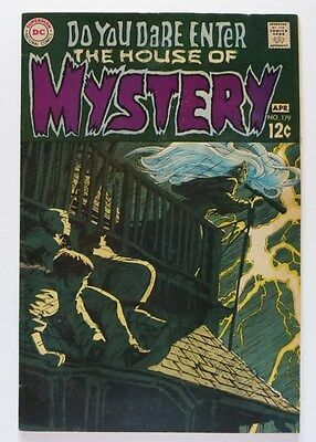 House Of Mystery #179 (Dc 1969) Fn 6.0 Bernie Wrightson's First Comic! Key Book!