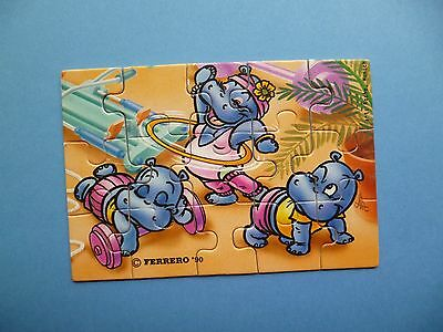 Puzzle- KINDER Happy Hippo Fitness    Allemand) Sans BPZ