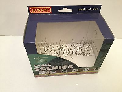 Hornby R8939 OO Scale Tree Armatures Deciduous 68mm (4 Trees)