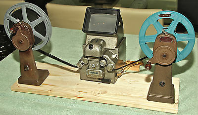 HAHNEL 16mm EDITOR AND BELL & HOWELL REWIND ARMS