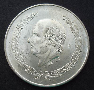 1954 Mexico $5 Pesos silver coin Hidalgo Key Date please see the UNC Beautiful
