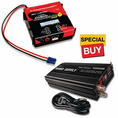 Revolectrix Cellpro PowerLab 6 Battery Charger 6S/40A/1000W /1200W Power Supply
