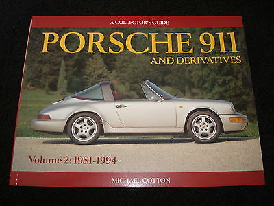 PORSCHE 911 959, 961, Carrera collector's Guida vol. 2 1981-1994 Michael cotone