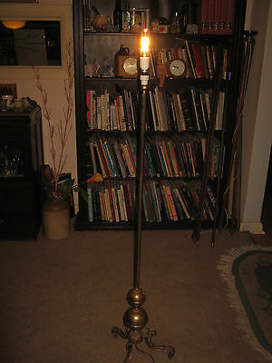 A Brass Floor Lamp ....freight Available!